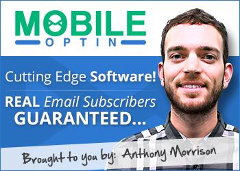 mobile optin banner